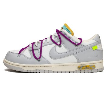 """Nike Off-White x Dunk Low """"Lot 21 of 50"""" DM1602-100"""