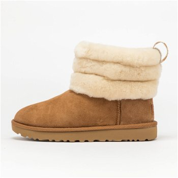 """UGG Fluff Mini Quilted """"Chestnut"""" W 1098533 CHE"""