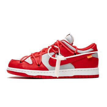 """Nike Off-White x Dunk Low """"University Red"""" CT0856-600"""